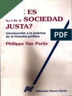 Van Parijs. Qué es una sociedad justa.pdf