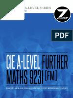 Cie a2 Further Maths 9231 Mechanics Znotes