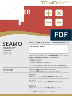 Seamo practice paper- f