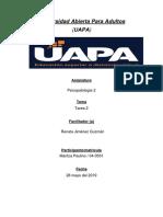 Tarea-2 (Psicopatologia 2)
