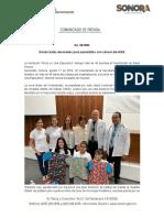 17-08-19 Donan batas decoradas para pacientitos con cáncer del HIES