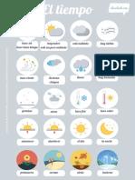 El tiempo - Vocabulario.pdf