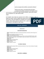 Guía Del Peregrino
