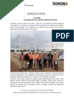 18-08-19 Continuan Expansiones de Las Grandes Empresas en Sonora