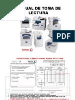Manual  De Lectura de Medidores de equipos Xerox