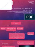 Desordenes neurocognitivos dsm 5
