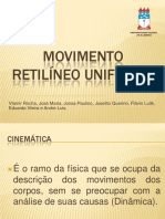 Mru Movimentoretilineouniforme 130520132311 Phpapp01