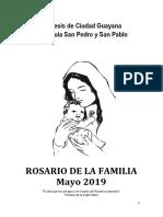 Rosario de La Familia SPySP Mayo 2019