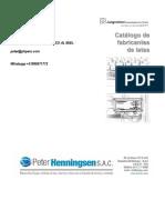 Jungmichel Catálogo para Fabricantes de Latas - ESPAÑOL