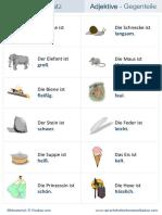 Wortschatz-Adjektive-Gegenteile