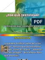 porque testificar adventistas
