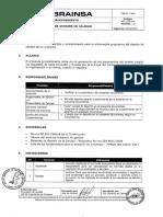 PS11-PR-001 v1.0 Gestion Dossier de Calidad