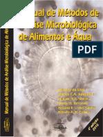 Manual de Métodos de Analíse Microbiolgica de alimentos e água