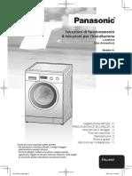 Manuale Lavatrice Panasonic Na-107vc5