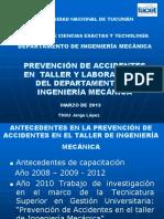 Prevención de Accidente en Taller y Lab. Dpto. Mecánica (1)