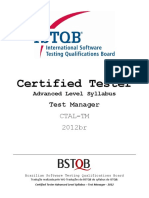 Certified Tester Advanced Level Syllabus