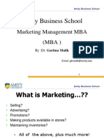 Intorduction of Marketing Management