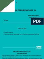 Fisiologia de Cardio sobre la Presion arterial