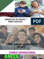 Conductas de Riesgo y Redes Sociales.