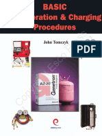 Refrigeration and Charging Procedures