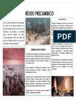 PERÍODO PRECAMBICO