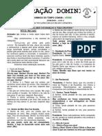 Folheto 25 de Agosto 2019 21º Domingo Do Tempo Comum
