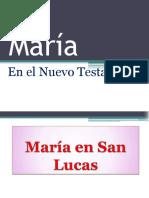 3.- María en San Lucas. P.David Trujillo