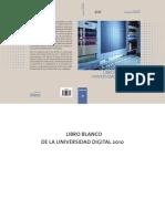 Libro Blanco de La Universidad Digital 2010