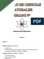 Modulo de Ciencias Naturales 9°