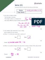 Number H Number Problems v2 Solutions