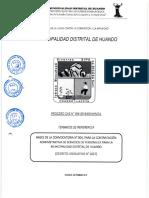 PROCESO CAS N°004-2019 MUNICIPALIDAD DISTRITAL DE HUANDO