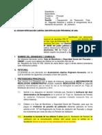 Mod. Niv. Pensión Proporcional -Caja de Beneficios y Seguridad Social del Pescador