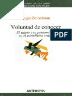 Zemelman Hugo. Voluntad De Conocer (1).pdf
