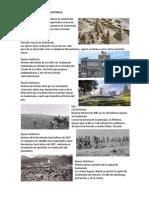 Épocas Históricas de Guatemala
