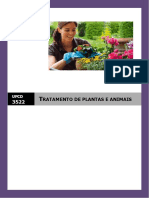 Manual Ufcd 3522 - Tratamento de Plantas e Animais - Copy