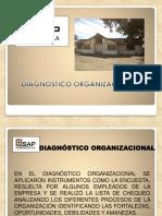 Diapositivas Diagnostico Organizacional Sap Agregados s.A
