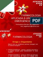 FARMACOLOGIA APLICADA À URGÊNCIA E EMERGÊNCIA ADULTA