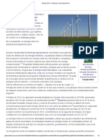 Energía Eólica - Wikipedia, La Enciclopedia Libre