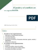 TEMA 6. Poder y Conflicto