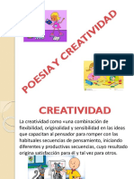 Poesia y Creatividad