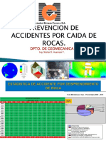 Prevencion de Accidente Por Caida de Rocas