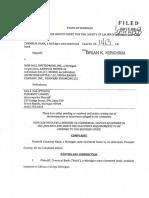 Chemical Bank lawsuit against Dark Horse Brewing