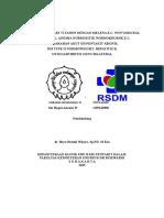 Kasus Besar dr Bayu Basuki W., Sp.PD, M.Kes - Melena ec Non Variceal, Anemia Normositik Normokromik ec Perdarahan Akut, DM type II, HepB, OA.doc