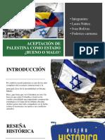 Aceptacion de Palestina