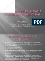 Evolucion de La Terapia Cognitivo Conductual