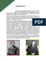 Biografia de Baldomero Lillo