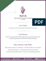 Misk Job Descriptions