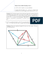 Math Circle 2019 Ps 5 Solutions