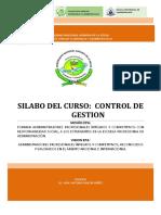 S-control de Gestion