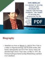 Fay Abdellah Presentation